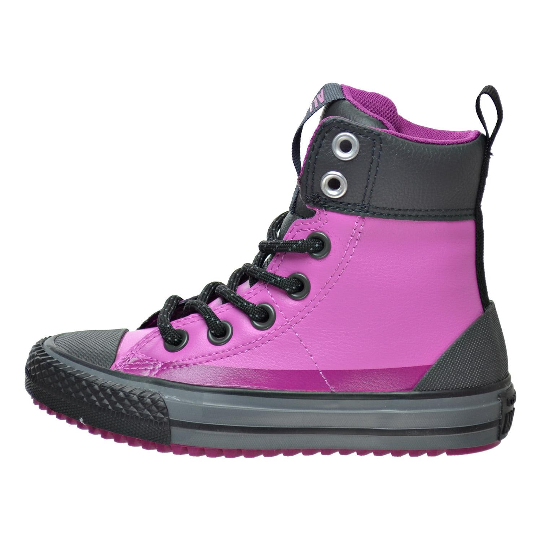 Converse Chuck Taylor Asphalt High Top Little Kids/Big Kid's Shoes Dahlia Pink 650006c