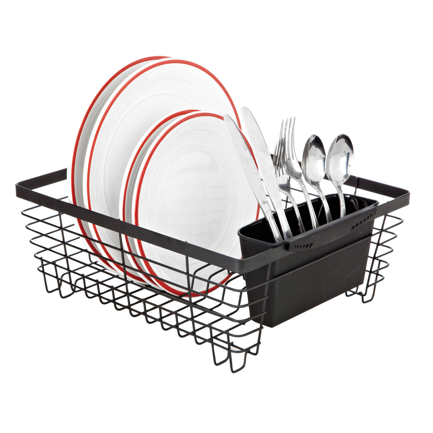 Kennedy Home Collection Flat Wire Dish Rack by Kennedy International, INC.