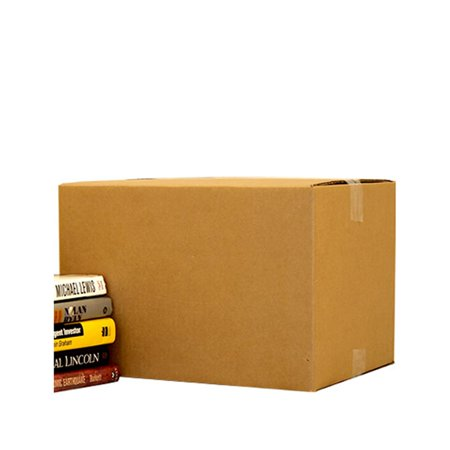 Uboxes Small Moving Boxes, 16x10x10 in, 25 Pack, Cardboard Box - Round Cardboard Boxes