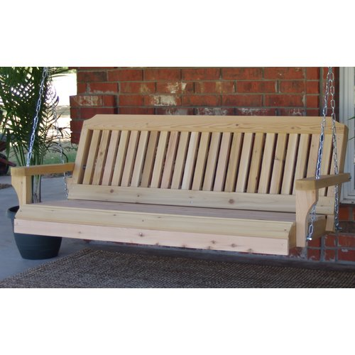 Highland Dunes Himrod Traditional Porch Swing