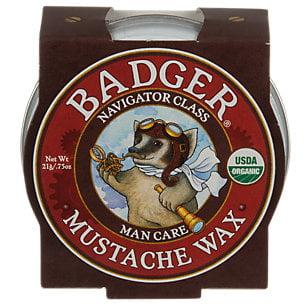 Badger - Man Care - Mustache Wax - .75 oz