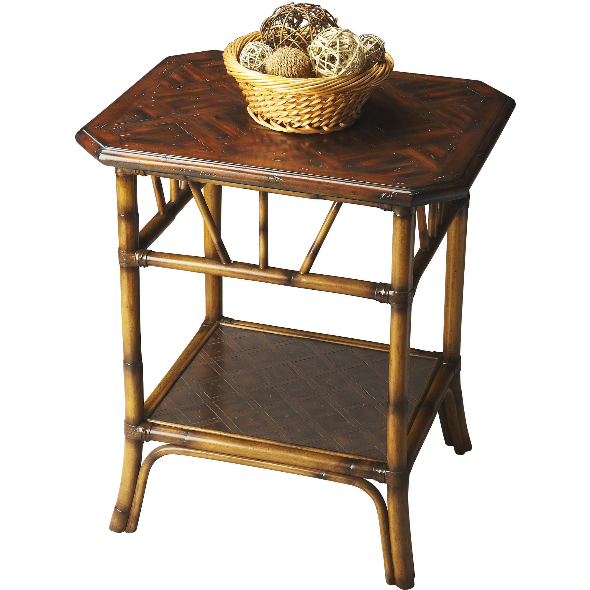 Butler Heritage Rattan Lamp Table by Butler Specialty Company