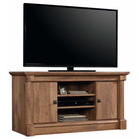 Sauder Palladia Panel TV Stand for TVs up to 50