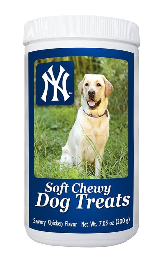 MLB New York Yankees Soft Chewy Dog Treats, 7oz by GameWear, Inc