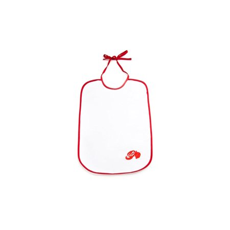 Nantucket Seafood 5958 Cotton Lobster Bibs, Set of Two, Set of two adult-sized lobster bibs, 14 x 21 inch By Fox Run (Lobster Bib)