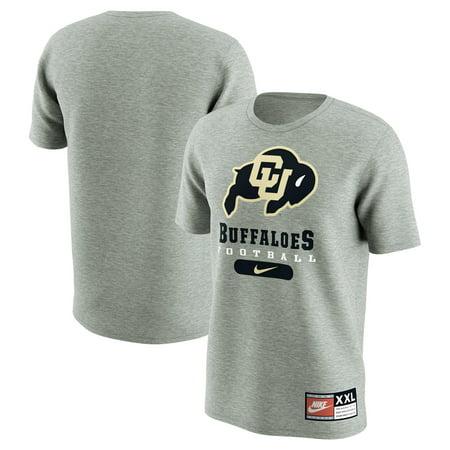 Colorado Buffaloes Nike Retro Pack T-Shirt - Gray (Nike Jordan Retro 3 Grey)
