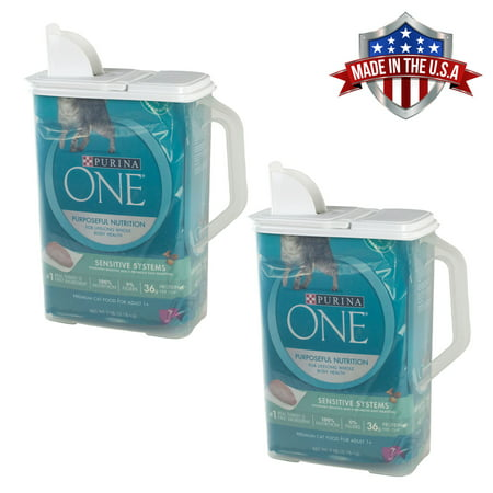 Wish Keeper (2 Pack of Food Storage Container Large 8 Quart Keeper Pour n' Store with Handle )