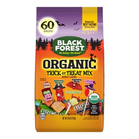 Black Forest Organic Trick or Treat Halloween Candy, 60 Ct](Halloween Candy Facts)