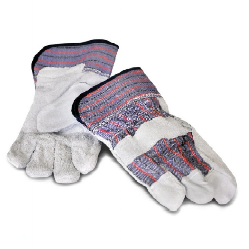 Leather Palm Industrial Gloves Economy Large 60 Pairs
