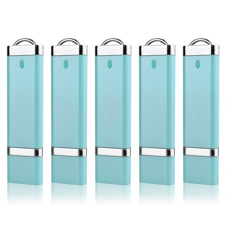 KOOTION 5Pack 16GB USB 3.0 Flash Drive Memory Stick Fold Storage Thumb Pen Drive Swivel, (Best 16gb Usb 3.0 Flash Drive)