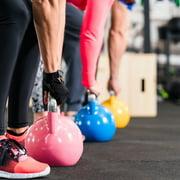 "FlooringInc Sport-Lock Rubber Tiles - Exercise Gym Workout Flooring (1 Tile 3'x3'x3/8"") Black"