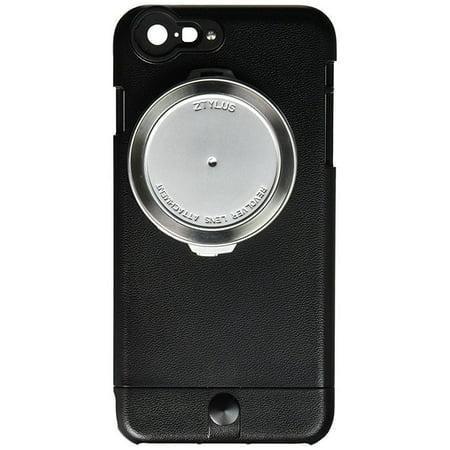 lowest price c20e7 70183 Ztylus iPhone 6s Plus / 6 Plus Lite Series Camera Kit w/ 4-in-1 Lens  Attachment (Premium Textured Leather Finish Style) (Black)