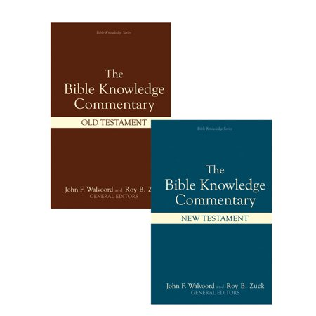 Bible Knowledge Commentary (2 Volume - Halloween 4 Commentary