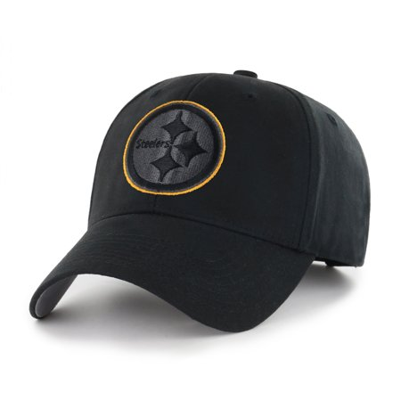 NFL Pittsburgh Steelers Black Mass Basic Adjustable Cap/Hat by Fan Favorite](Steelers Accessories)