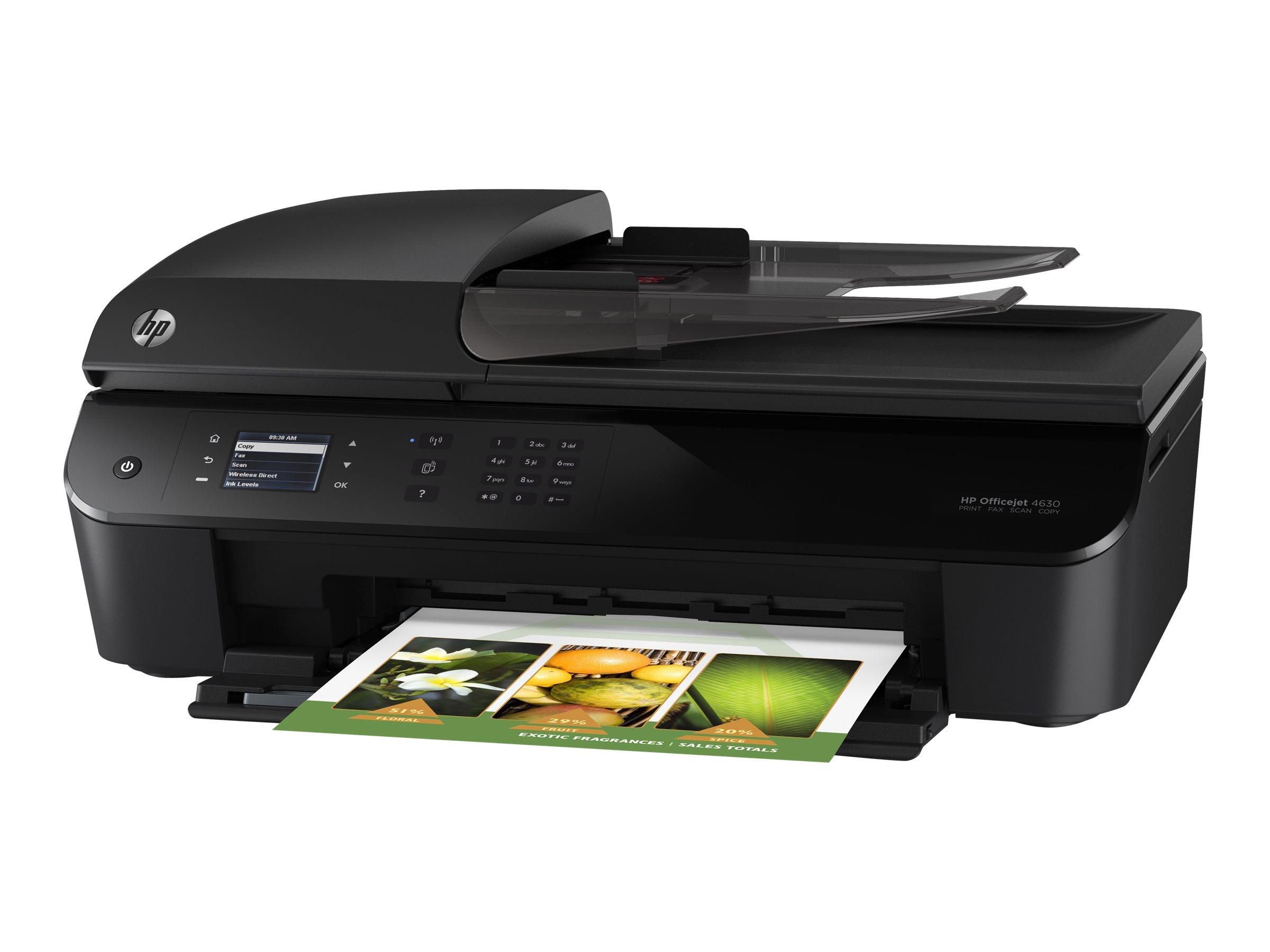 image relating to Hewlett Packard Printable Cards named Hewlett Packard Hp Officejet 4632 E-all-inside-a person Printer