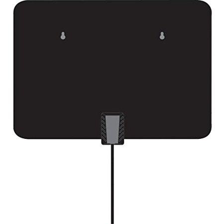 Inland Products Slim Leaf Indoor Antenna With Amplifier – Range – Vhf, Uhf – 174 Mhz, 470 Mhz To 230 Mhz, 810 Mhz – 5 Dbi – Indoor, Hdtv Antenna, Televisionomni-directional (05501_25)