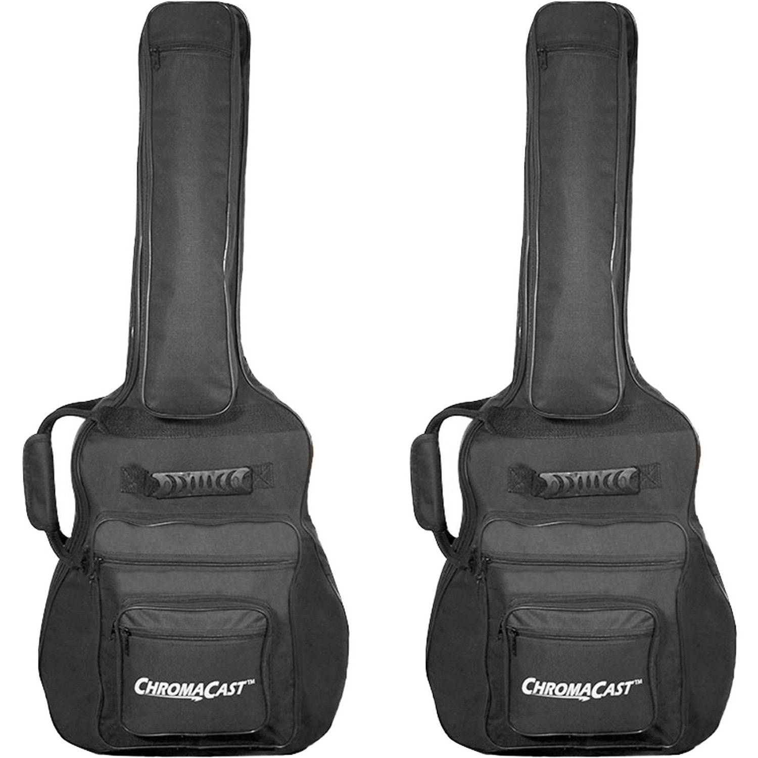 ChromaCast Padded Acoustic Guitar Gig Bag, 2 Pack by ChromaCast