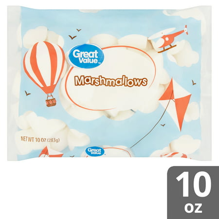 (3 pack) Great Value Marshmallows, 10 oz