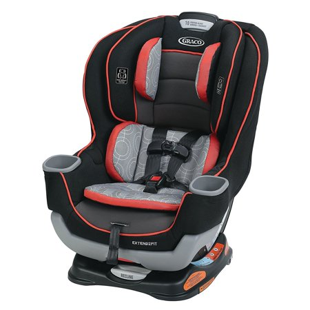 Graco Extend2Fit Convertible Car Seat Solar