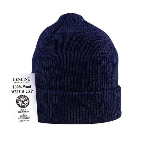Genuine U.S. Navy 100% Wool Watch Cap c0e65c52b172