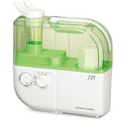 SPT-SU-4010G Dual Mist Humidifier with ION Exchange Filter(Green) by USA