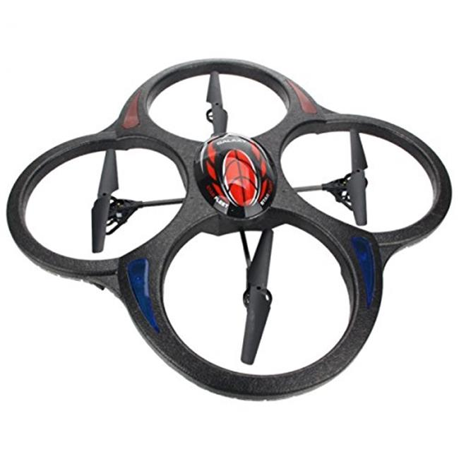 CIS 391C 23 x 23 in. Large QuadCopter with Camera, 2.4 Ghz Control 6 Axis Gyro & Lipo by CIS