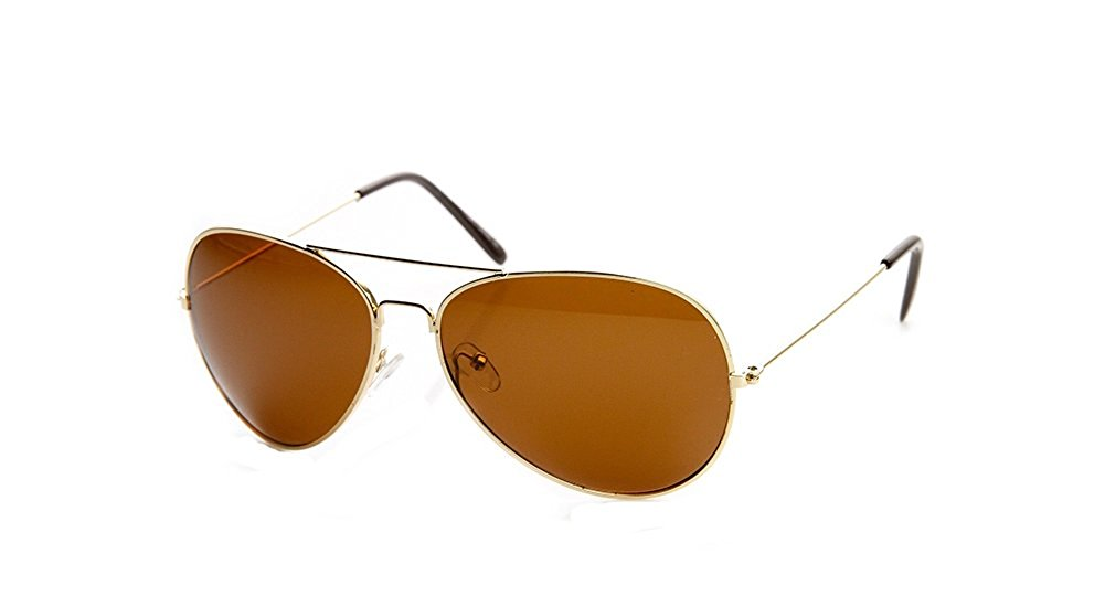 b220374b8ebec Fashion Culture - Fashion Culture Emerson Polarized Lens Oversized Aviator  Sunglasses