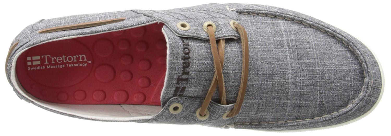 Tretorn Otto Women's Grey Denim Fashion Sneakers 7.5M by Tretorn