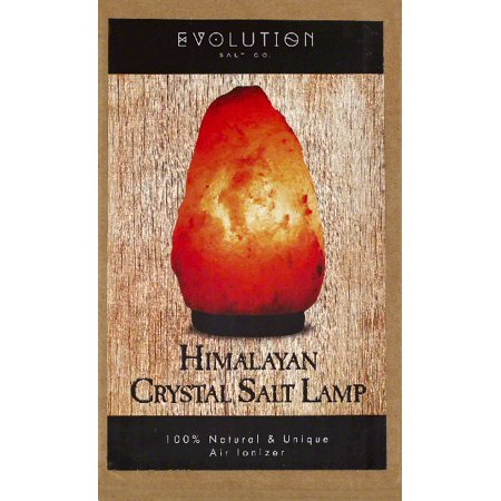 Himalayan Salt Lamps Evolution : Evolution Salt Lamp, Himalayan Crystal Salt, Small - Walmart.com