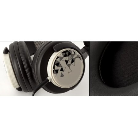 Griffin Mega Cans DJ-Style Over-the-Ear Headphones White/Black