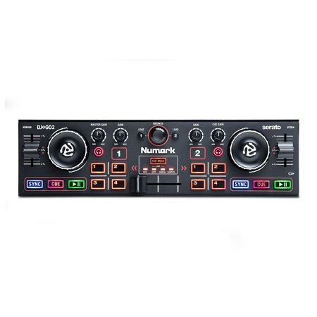 Numark DJ2GO2 Pocket DJ Controller with Audio