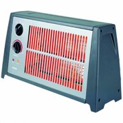 Portable Fan Forced Radiant Heater with Audible Alert
