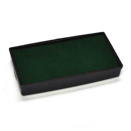 Plum Ink - Replacement Pad for 2000 PLUS Printer 30 Self Inking Stamp - Green Ink Color
