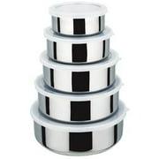 KitchenWorthy 15 Piece Stainless Steel Kitchen Set