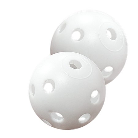 White Perforated Practice Golf Balls Available in 12, 24, 60, 120 or 240 count (each sold separately)