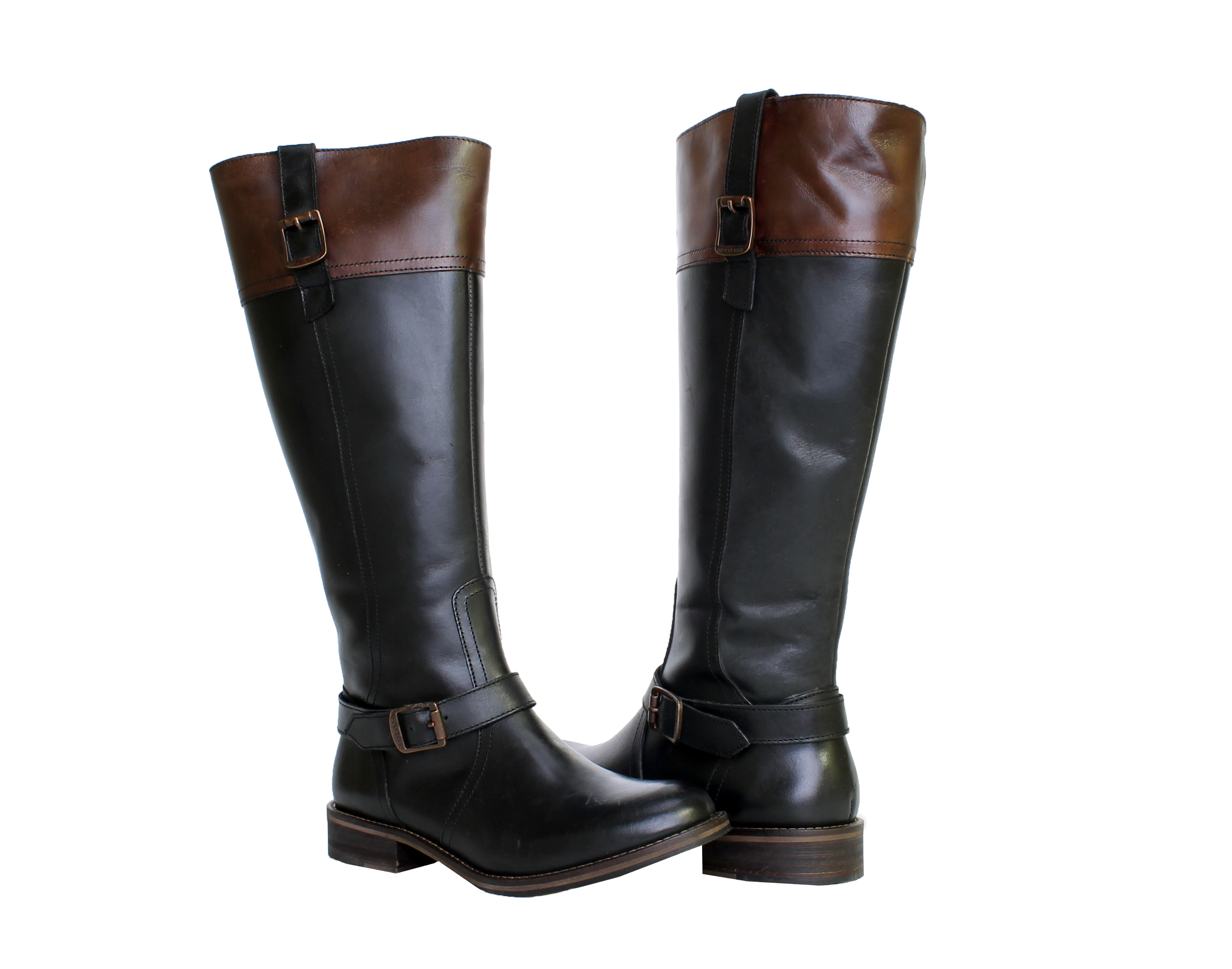 1883 by Wolverine Shannon Black Women's Riding Boots W40091 by
