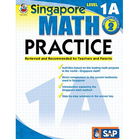 Math Practice, Grade 2 : Reviewed and Recommended by Teachers and Parents