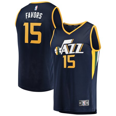 Derrick Favors Utah Jazz Fanatics Branded Youth Fast Break Player Jersey - Icon Edition - Navy ()