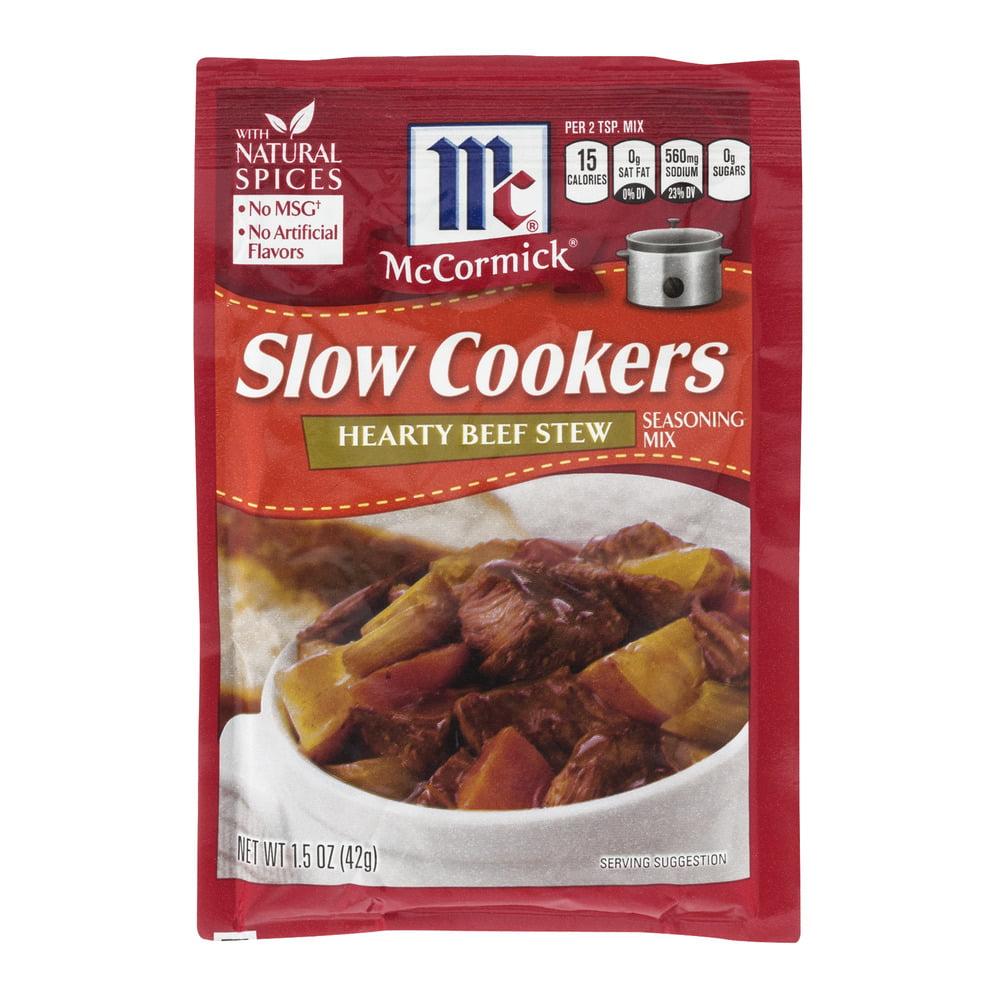 Beef stew mix
