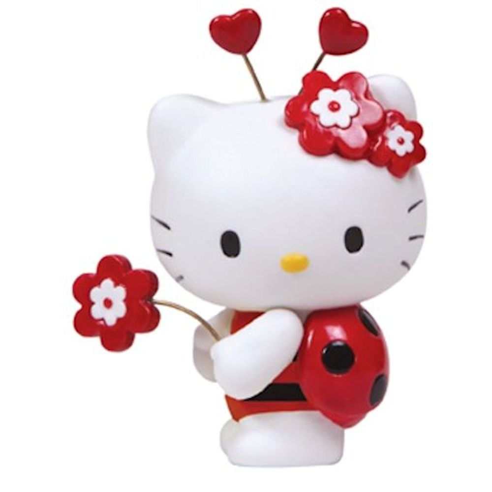 Precious Moments 8124003 Hello Kitty Ladybug Figurine
