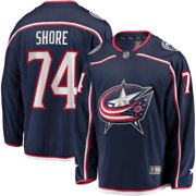 Devin Shore Columbus Blue Jackets Fanatics Branded Breakaway Home Player Jersey - Navy