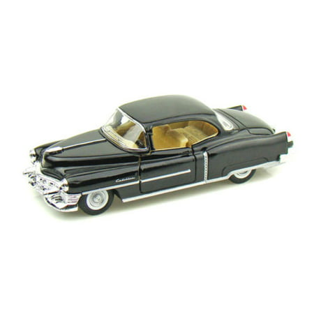 KINSMART 1:43 DISPLAY 1953 CADILLAC SERIES 62 COUPE DIECAST CAR BLACK COLOR KT5339D NO RETAIL BOX