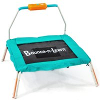 Skywalker Trampolines 36-Inch Square Language Learning Mini Bouncer