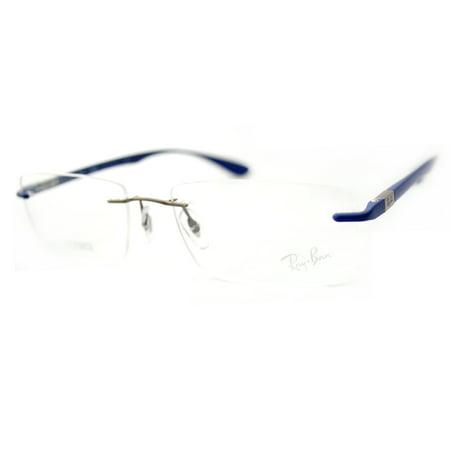 9a2f58555c1 Ray Ban RX8724 Tech Eyeglasses-1153 Gunmetal-56mm - Walmart.com