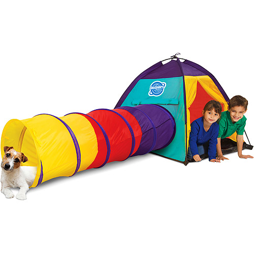 Discovery Kids 2-Piece Play Tent  sc 1 st  Walmart : childrens play tents and tunnels - memphite.com