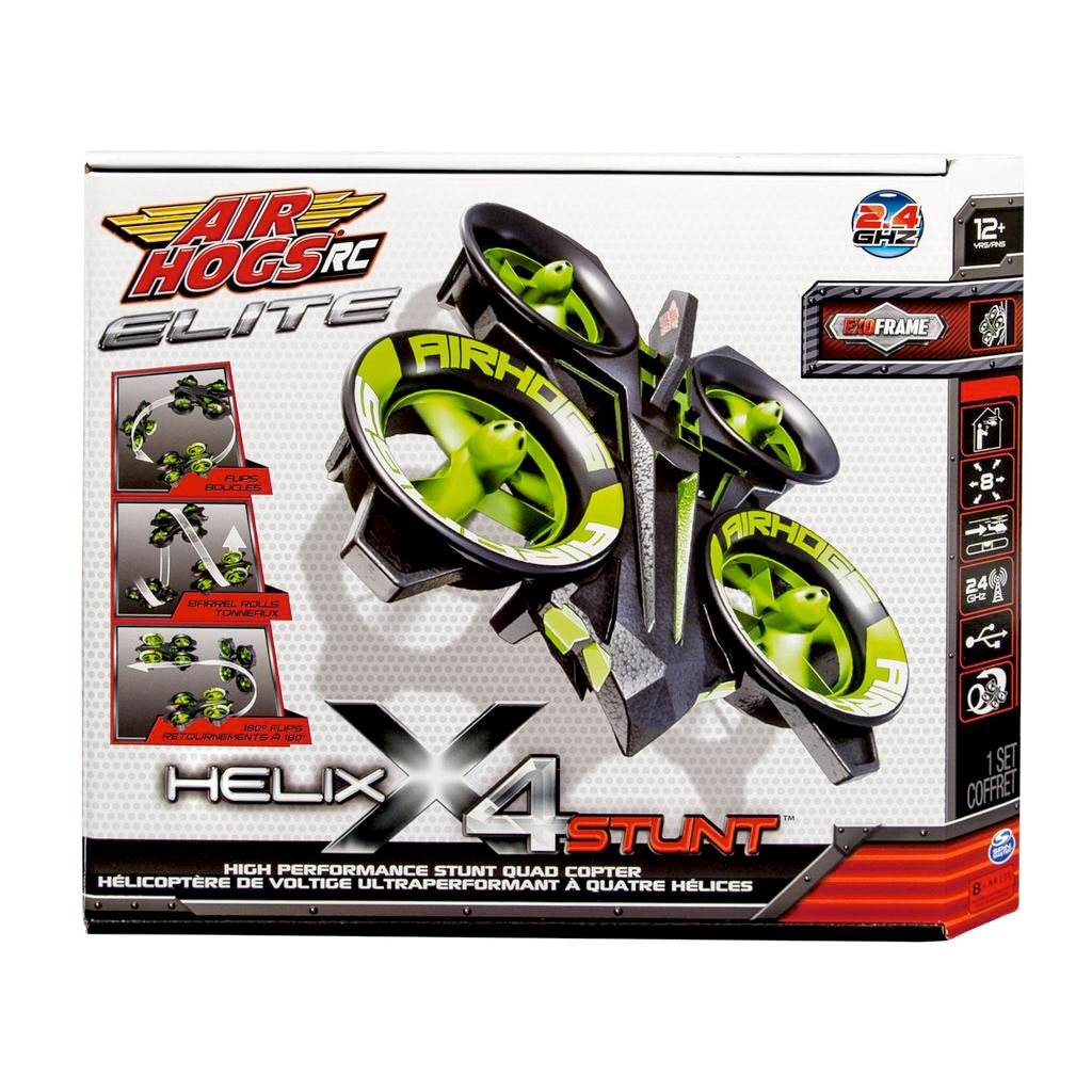 Air Hogs Helix X4 Stunt, 2.4 GHZ Quad Copter by Spin Master Ltd