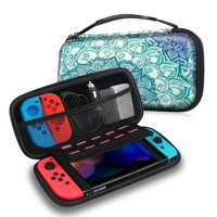 Fintie Carrying Case for Nintendo Switch - Shockproof Hard Protective Cover Travel Bag w/ 10 Game Card Slots