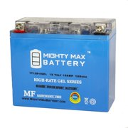 YT12B-4 GEL 12V 10Ah Battery Replacement for PartsUnlimited 2113-0090