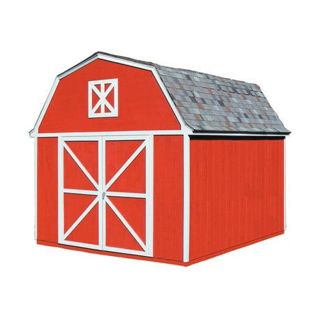 Handy Home Berkley Storage Shed - 10 x 14 ft.