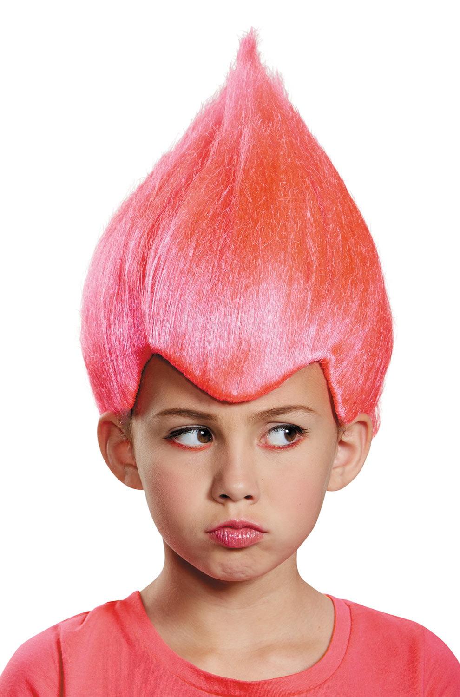 Child Pink Wacky Troll Costume Wig - Walmart.com